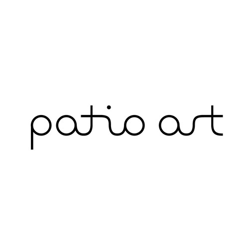 Line drawing design with the title 'LTD PATIO ART'