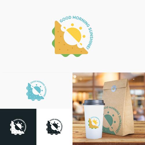 Breakfast logo with the title 'Logo design for artisan breakfast restaurant'
