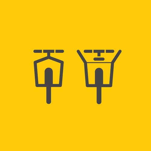 New design with the title 'Design amemorable logo to revolutionise bicycle commuting.'