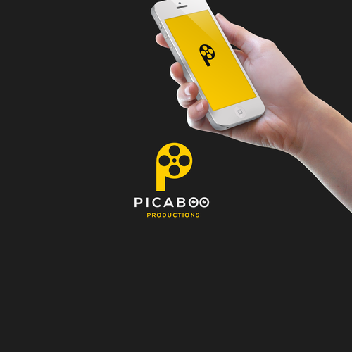 Film brand with the title 'picaboo productions'