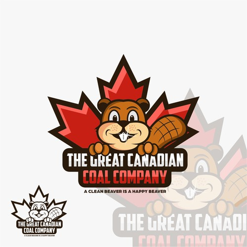 Beaver logo with the title 'The great canadian coal company'