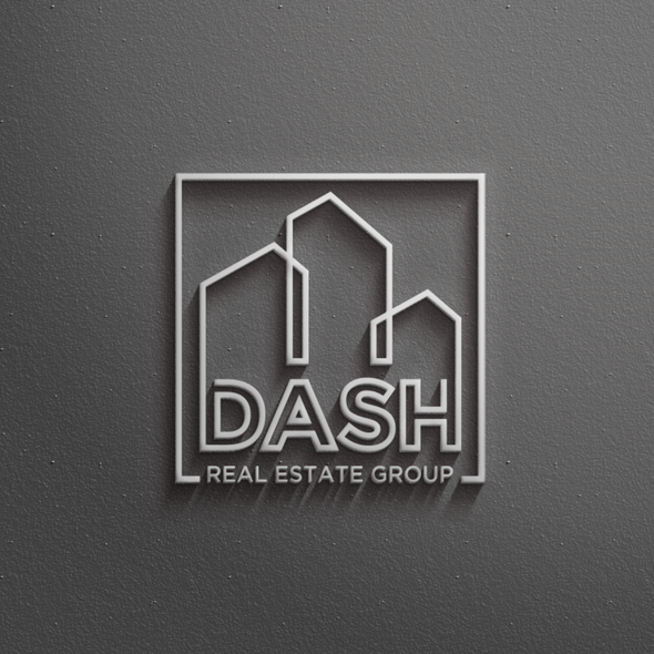 Blend logo with the title 'Logo for a Real Estate Company'