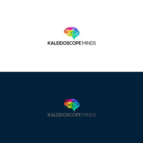 Kaleidoscope logo with the title 'Kaleidoscope Minds'