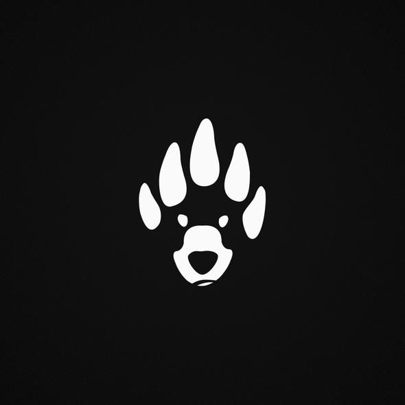 Bear print logo with the title 'Iconic Clothing Brand'