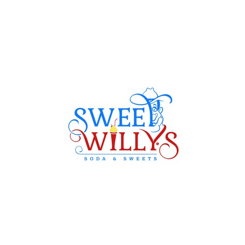 Soda logo with the title 'Sweet Willys'