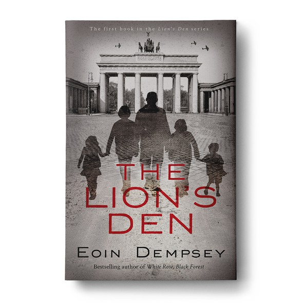 German book cover with the title 'The Lion's Den '