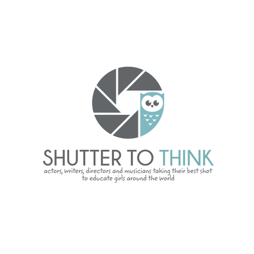 Clever logo with the title 'Logo needed for amazing project!!! Shutter To Think'