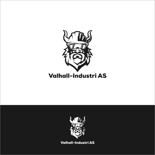 Esport brand with the title 'viking industri logo '