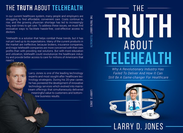 Medical book cover with the title 'The Truth About Telehealth'