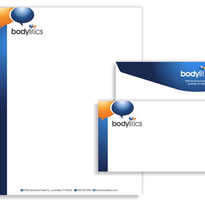 Business Card Design for Bodylitics