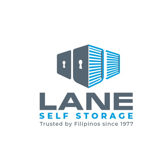 Self storage logo with the title 'Logo for Self Storage business'