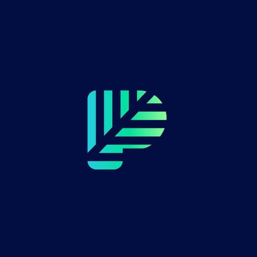 Contemporary logo with the title 'Vibrant, contemporary logo for social media app'
