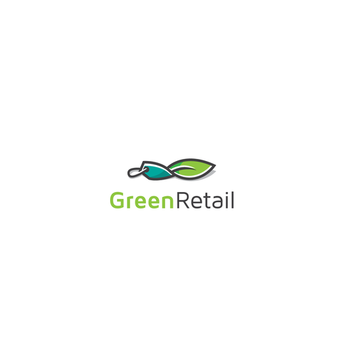 Tag design with the title 'Green Retail'