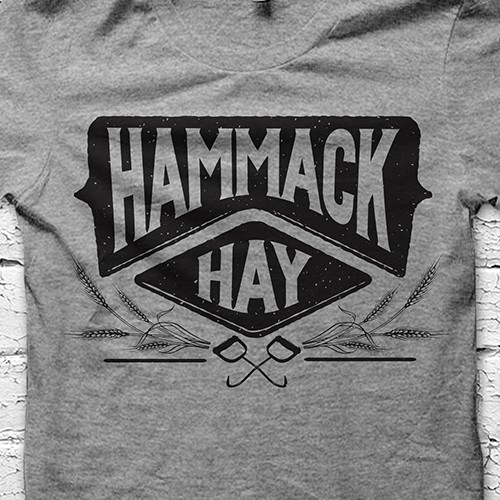 Agriculture t-shirt with the title 'Hammack Hay'