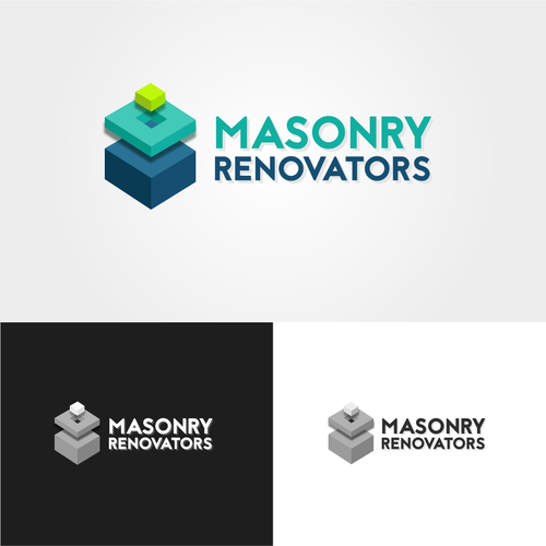 Masonry logo with the title 'Logo for masonry'