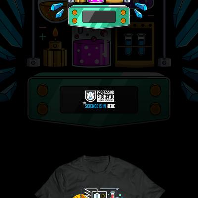 Science T-shirt Design