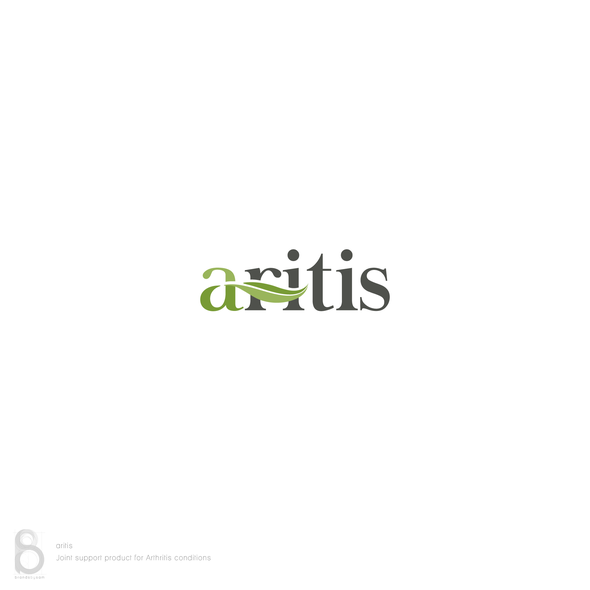 Joint logo with the title 'Logo design for 'aritis''
