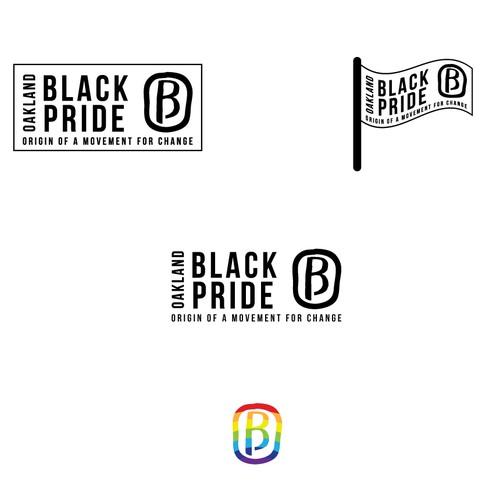 California design with the title 'Oakland Black Pride'