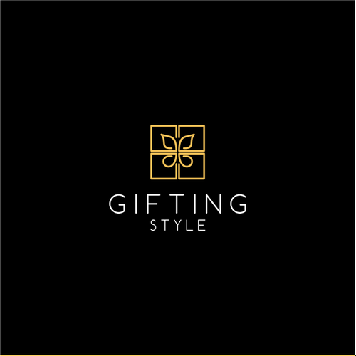 Ecommerce logo with the title 'Gifting Style - Logo for an e-commerce company'