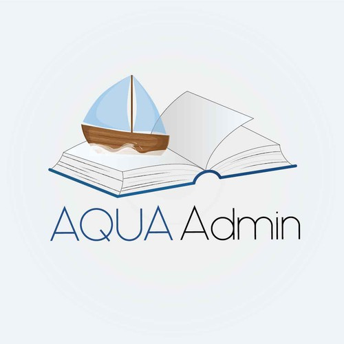 Sailing brand with the title 'logo concept for administration'