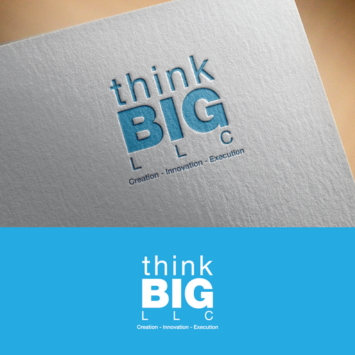 Big logo with the title 'Logo for Think BIG'