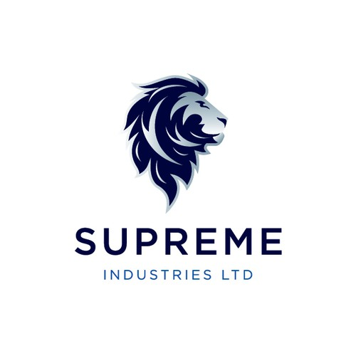 Abstract lion logo with the title 'Supreme Industries Ltd'