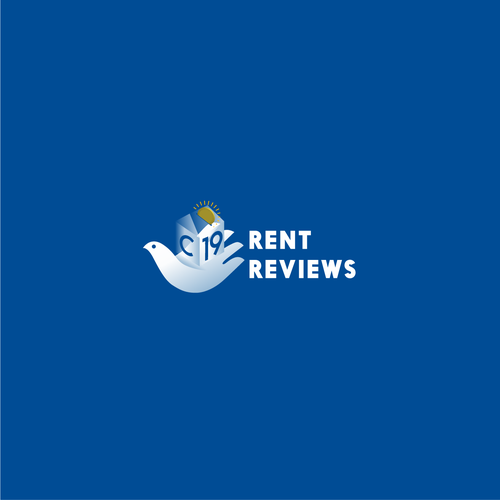 Small business logo with the title 'Covid Small Business Rent aid Attorney Logo design'