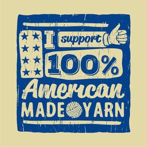 Yarn design with the title 'Winning design for Argyle Sheep Kickstarter Backer Exclusive Tote Bag.'