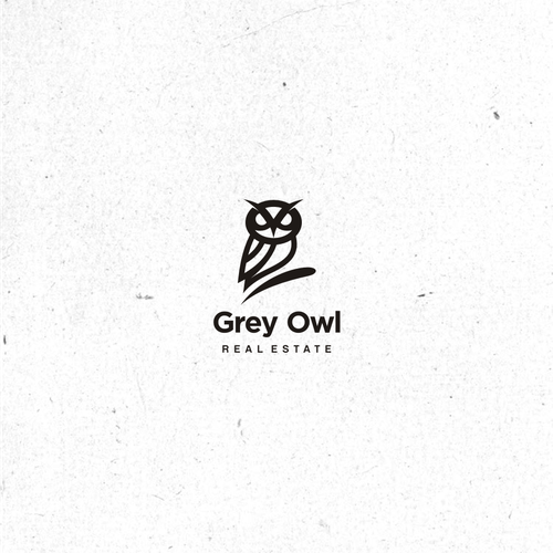 Owl brand with the title 'grey owl'