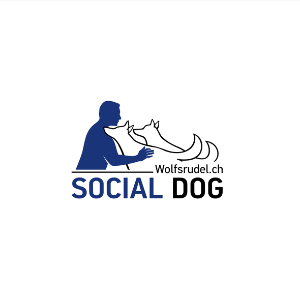 Patient logo with the title 'Logo for Social Dog'