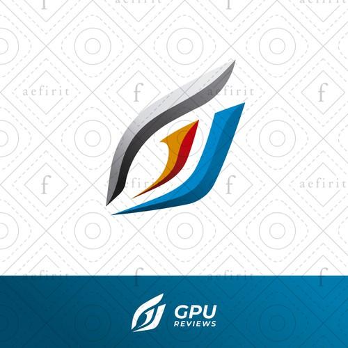 Visual logo with the title 'Modern Eye Logo'