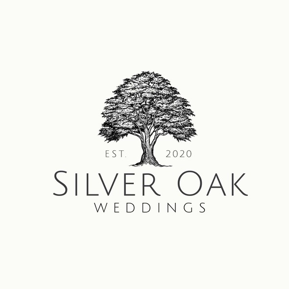 Engraved logo with the title 'Silver Oak'
