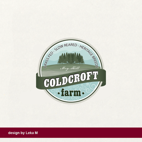 Hill logo with the title 'Coldcroft farm'