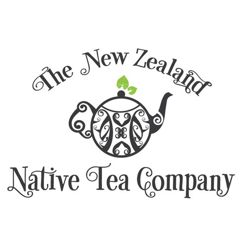 Polynesian logo with the title 'Create a classic/rustic logo for a unique herbal tea company!'
