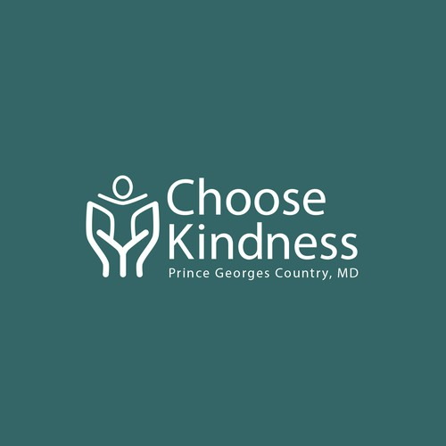Kindness design with the title 'Choose Kindness logo design'