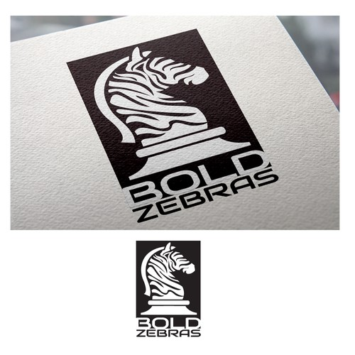 Zebra logo with the title 'Bold Zebras consulting'