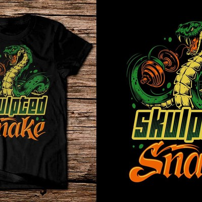 Skulpted snake