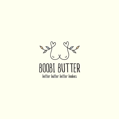 Body design with the title 'Boobi Butter'