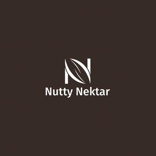 Peanut logo with the title 'Nutty Nektar'