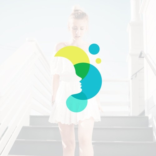 Girl design with the title 'GAIN '