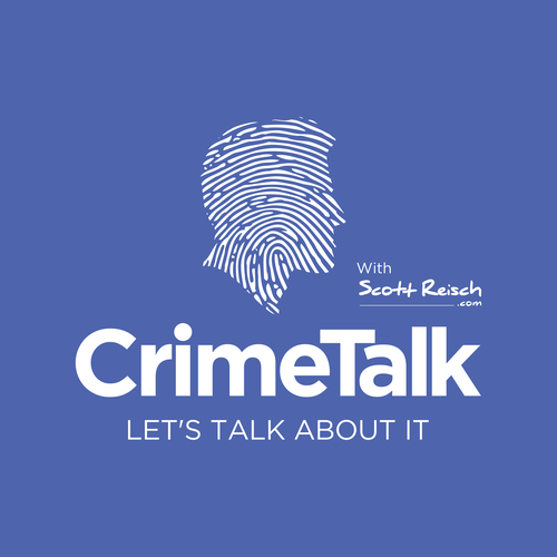 Justice design with the title 'crime talk'
