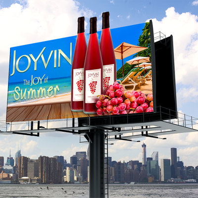 Bold Billboard Of Joyvin Wine