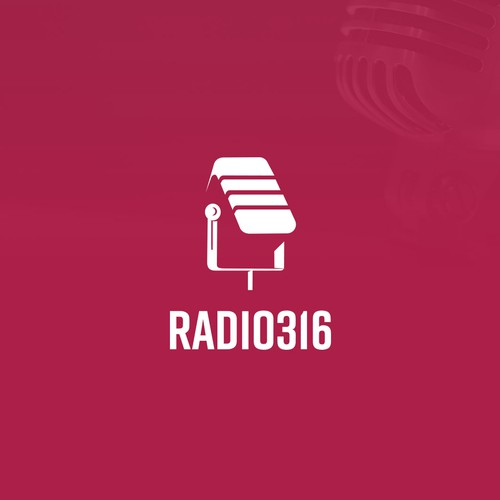Radio design with the title 'RADIO316'
