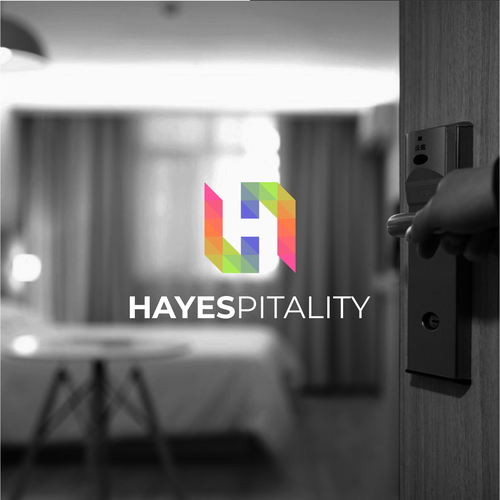 H logo with the title 'Hayespitality'