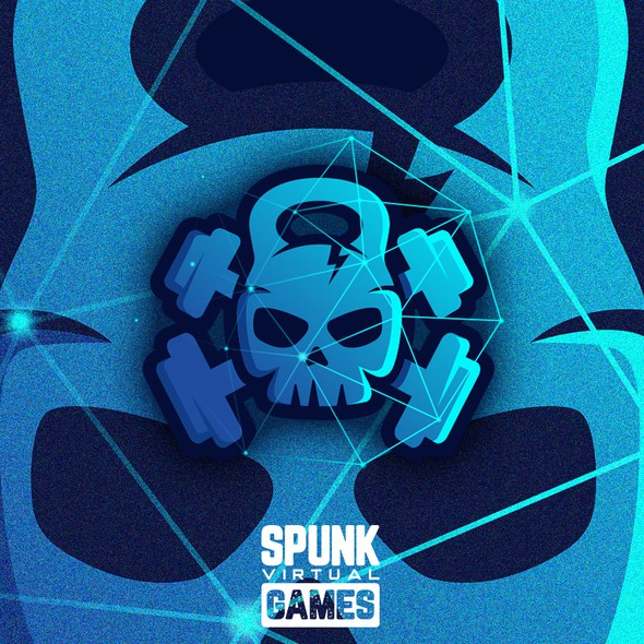 Series logo with the title 'Spunk Virtual Games'
