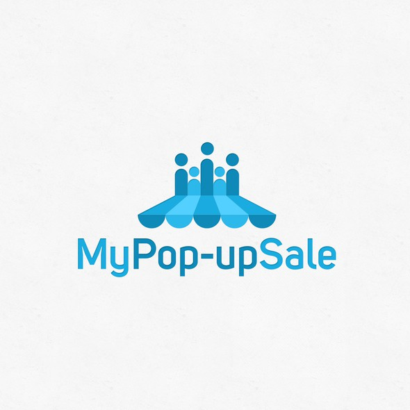 Pop-up logo with the title 'PeopleSale'