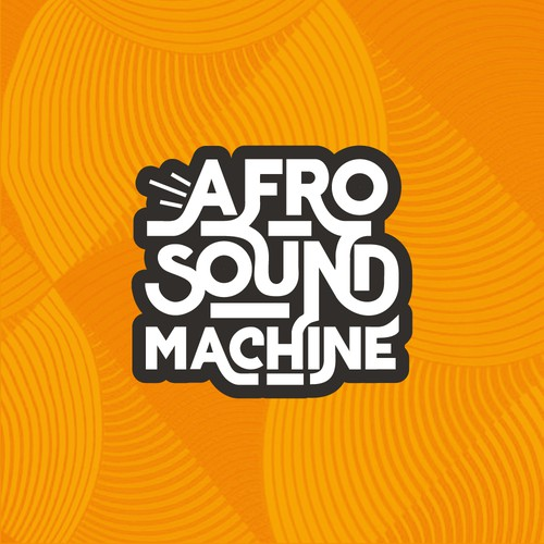 Afro design with the title 'Afro Sound Machine'