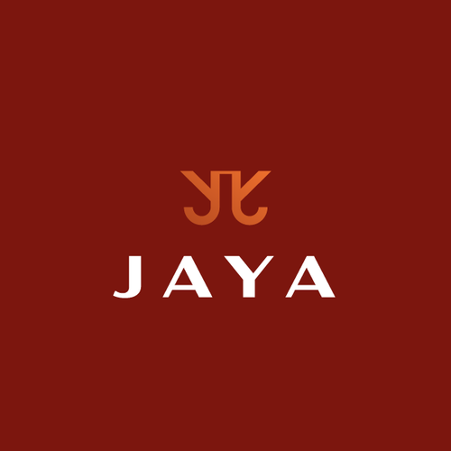 Woman logo with the title 'jaya'