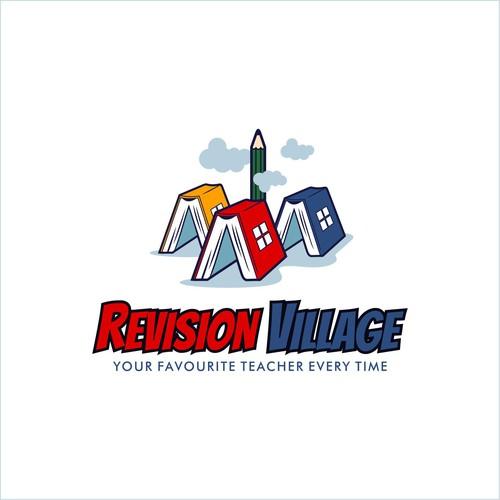 Village design with the title 'revision village'
