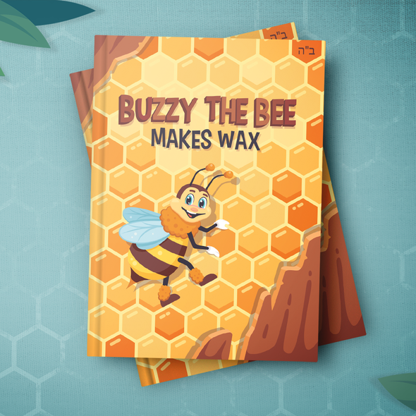 Clean illustration with the title 'Bee Book'